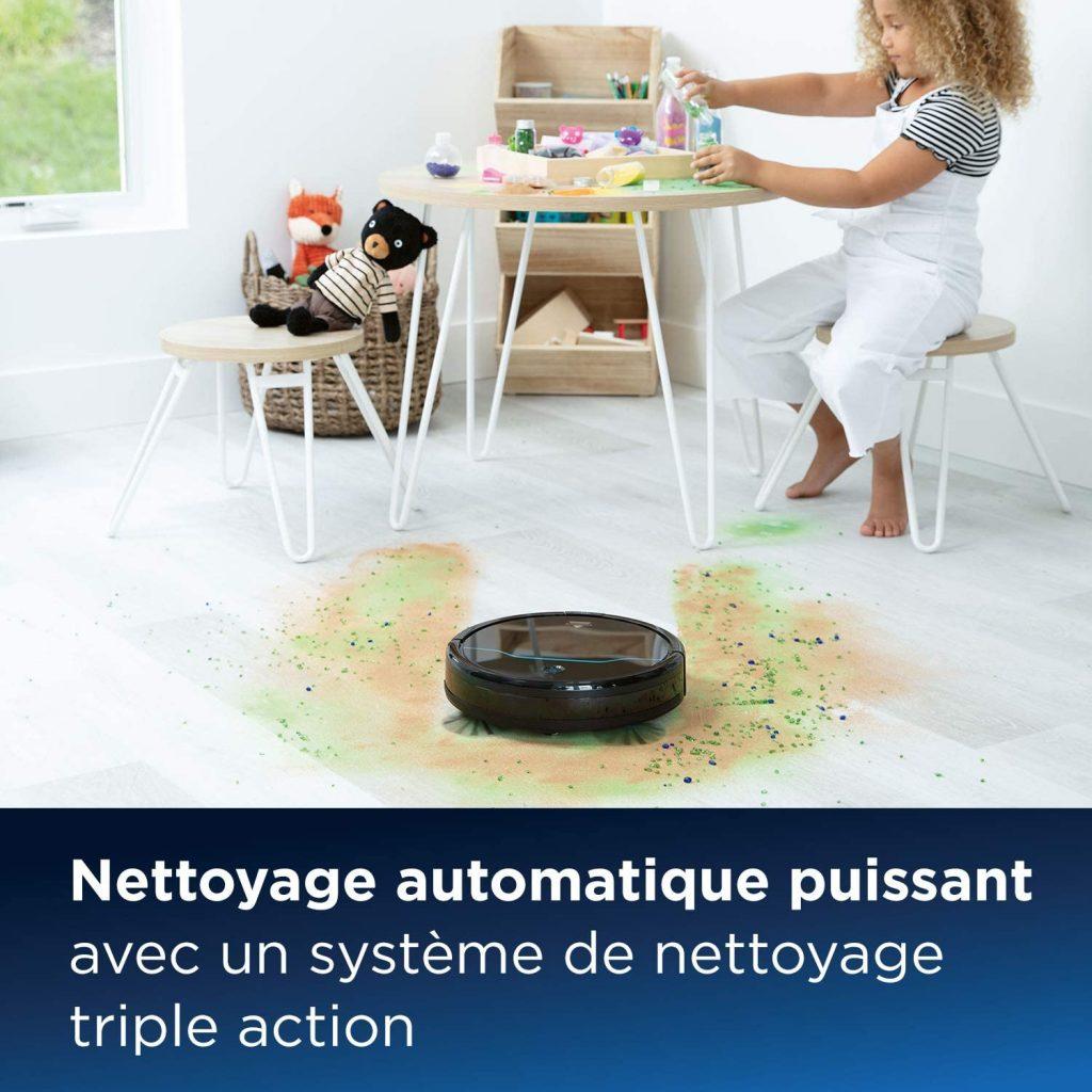Aspirateur robot multi-surfaces