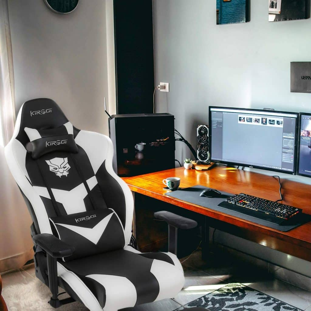 Fauteuil Gaming avec Support Lombaire