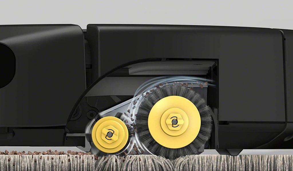 Idéal pour les tapis et sols durs - Technologie Dirt Detect