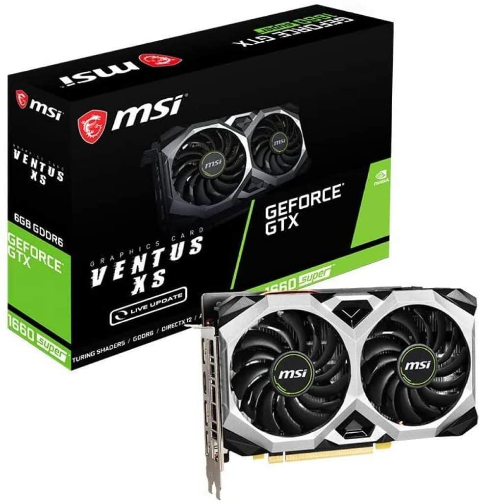 MSI NVIDIA GEFORCE GTX 1660 Super Ventus XS OC