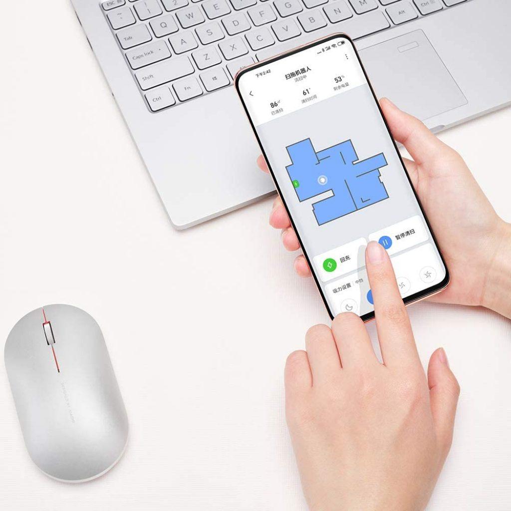Robot Aspirateur Connecté via application mobile