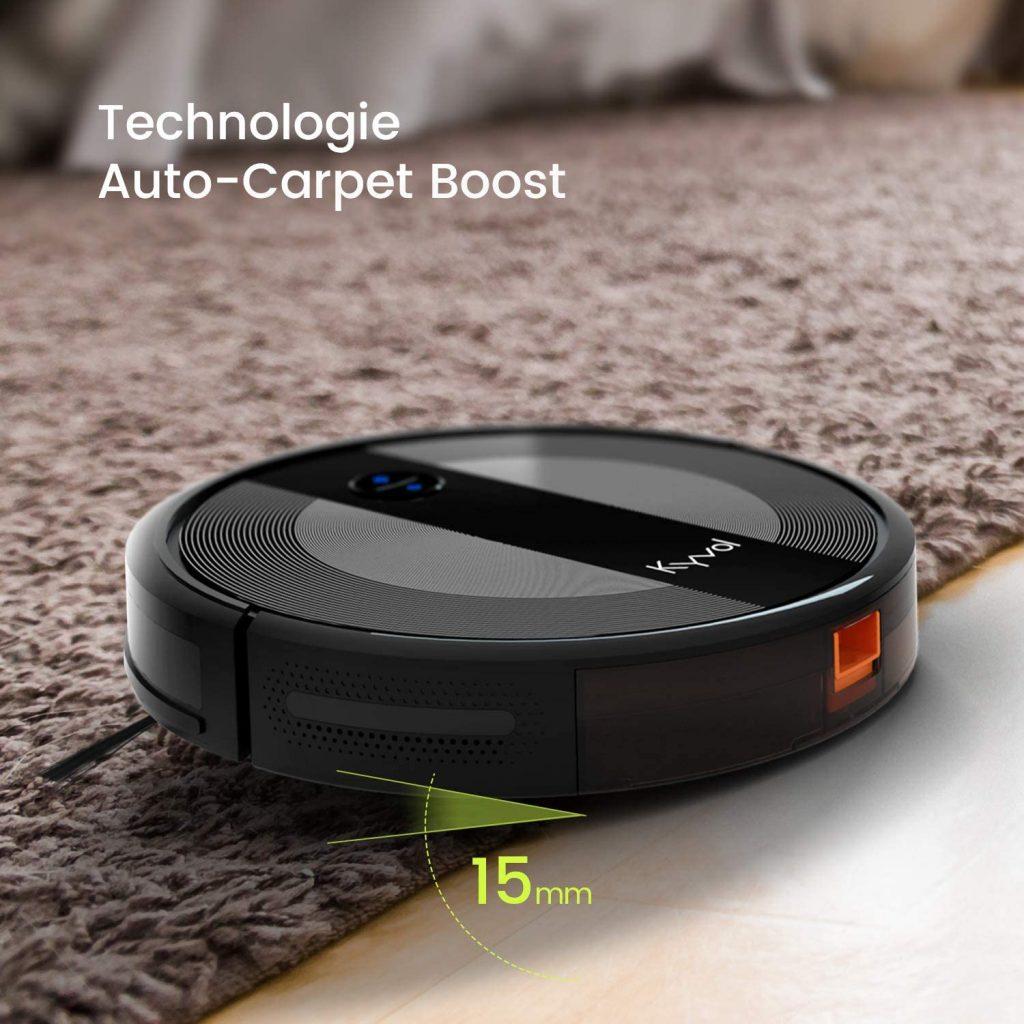 Technologie Carpet Boost