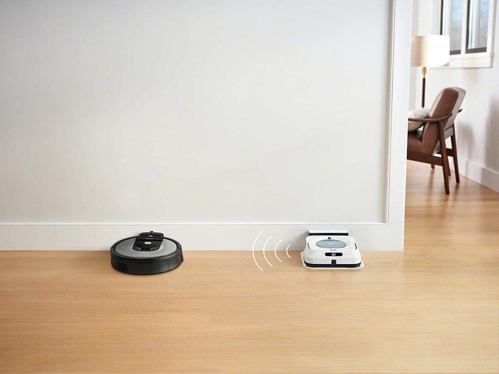 aspirateur robot avec forte puissance d'aspiration
