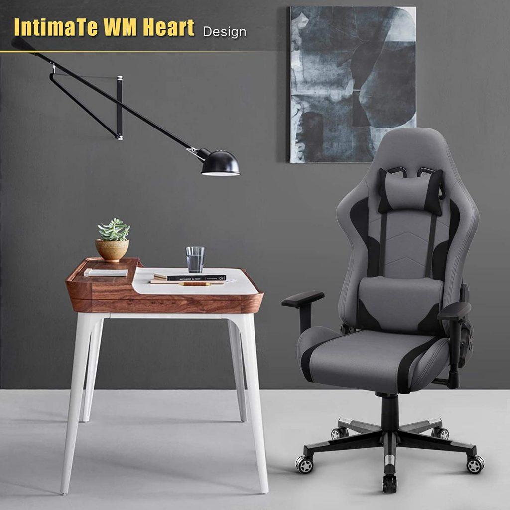 IntimaTe WM Heart Fauteuil Gaming en Tissu