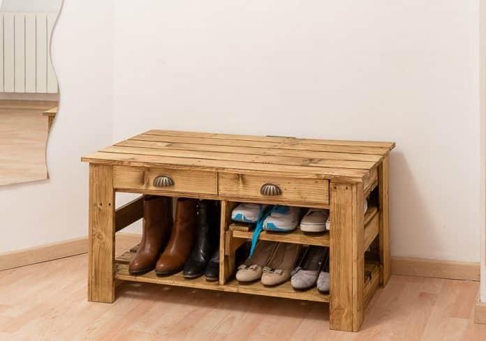 Fabriquer un meuble à chaussures avec des palettes : quels sont les outils nécessaires?