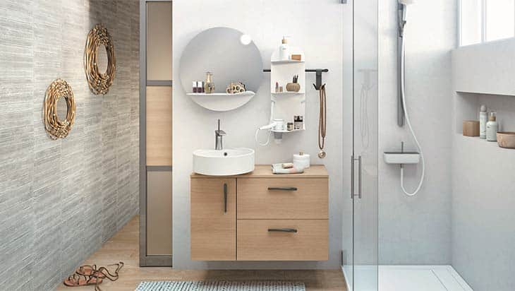 Comment aménager une petite salle de bain pour gagner de l'espace?