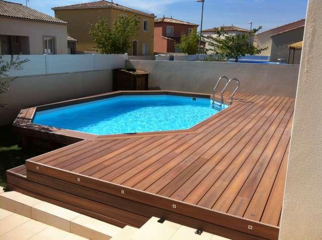 Comment entretenir une terrasse en bois piscine hors sol?