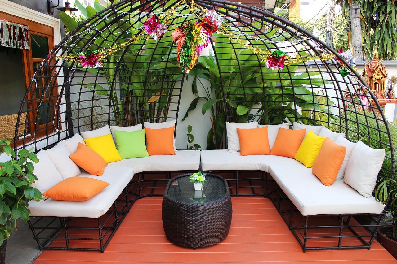 mobilier de jardin pour profiter du soleil